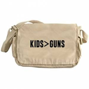 CafePress Kids Guns Messenger Bag