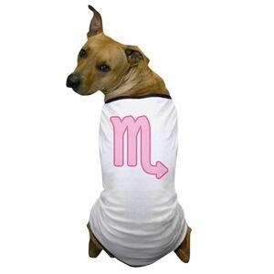 CafePress Pink Zodiac Scorpio Dog T-Shirt