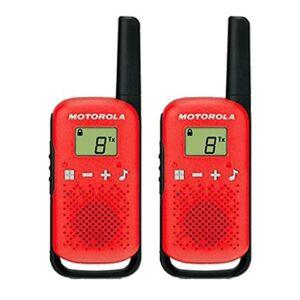 Motorola Tlkr-t42 2 Pack; unisex,  size: One Size, Red