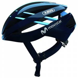 Abus Aventor Helmet S Movistar Team; unisex,