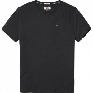 Tommy Hilfiger Original Regular Fit Crew Short Sleeve T-shirt L Tommy Black; male,