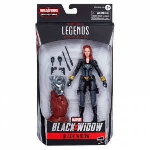 Hasbro Black Widow Legends Series Marvel One Size Black; unisex,  size: , Multicolor