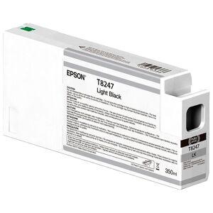 Epson Ultrachrome Hdx/hd 350ml T 8247 One Size Light Black; unisex,  size: , Black
