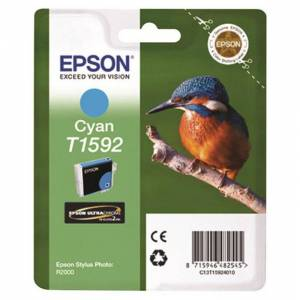 Epson Ultra Chrome T1592 One Size Cyan; unisex,