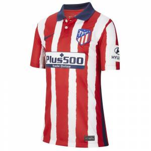 Nike Atletico Madrid Home Breathe Stadium 20/21 Junior T-shirt M Sport Red / Midnight Navy; unisex,