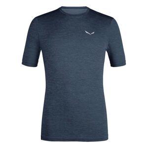 Salewa Puez Melange Hybrid Dryton Short Sleeve T-shirt S Ombre Blue Melange; male,
