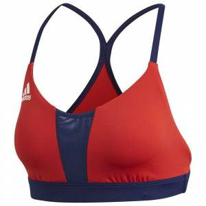 Adidas Infinitex Fitness All Me Volley Top; female,  size: L, Red