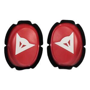 Dainese Pista Knee Slider One Size Red / White; unisex,