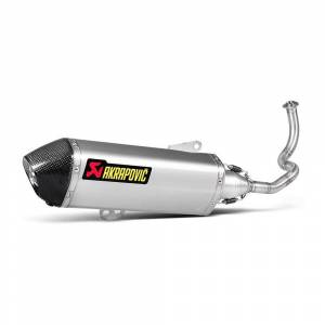 Akrapovic Racing Sh 125/150 Ref: S-h125r2-hrss; unisex,  size: One Size, Silver