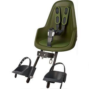 Bobike One Mini Front Child Bike Seat Max 15 kg Olive Green; male,