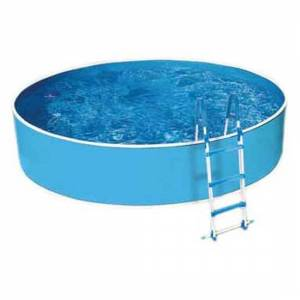 Mountfield Azuro 301 No Filter With Holes In Axis Pool 460 x 90 cm Blue / White; unisex,