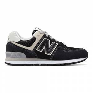New Balance 574 Wide; male,  size: EU 31, Black
