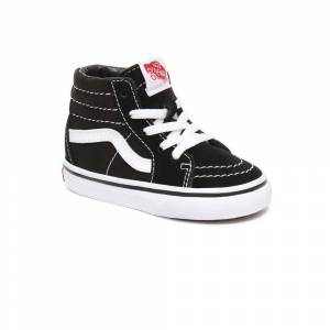 Vans Toddler Sk8-hi; male,  size: EU 21, Black