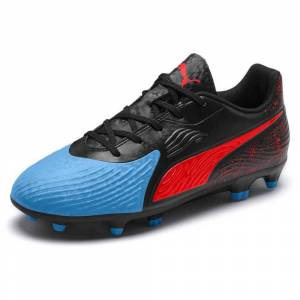 Puma One 19.4 Fg/ag; unisex,  size: EU 37 1/2, Blue Black