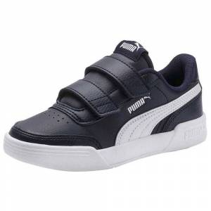 Puma Caracal Velcro Ps; male,  size: EU 33, White Black