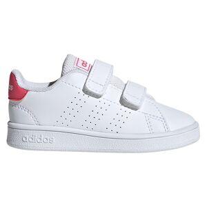 Adidas Advantage Infant; unisex,  size: EU 22, White