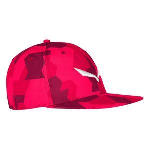 Salewa Puez Camou Cap One Size Rose Red; male,
