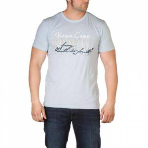 Vinson Wade Short Sleeve T-shirt XL Cool Blue; male,