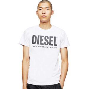 Diesel Diego Logo S Bright White; male,