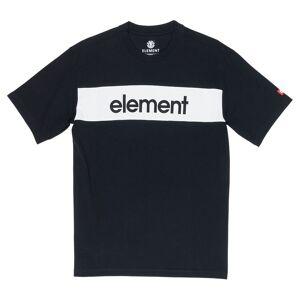 Element Primo Flag Crew S Flint Black; male,