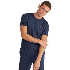Le Coq Sportif Essentials N2 Short Sleeve T-shirt M Dress Blues; male,