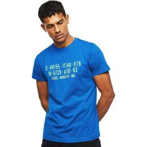 Diesel Diego S2 Short Sleeve T-shirt M Classic Blue; male,