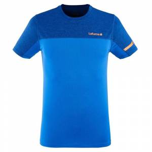 Lafuma Skim Short Sleeve T-shirt L Cobalt Blue; male,