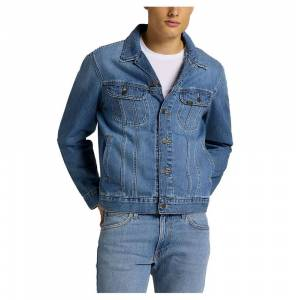 Lee Rider Jacket M Washed Camden; male,