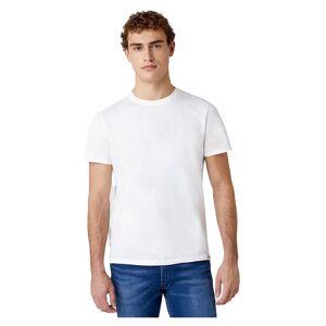 Wrangler 2 Units Short Sleeve T-shirt M White; male,