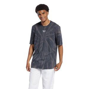 Reebok Classics Summer Retreat Tie Dye Short Sleeve T-shirt M Black; male,