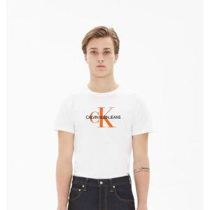 Calvin Klein Jeans Seasonal Monogram 2 Short Sleeve T-shirt M Bright White/Neon; male,