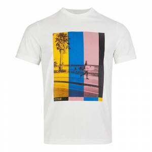 O´neill Color Tv Short Sleeve T-shirt L Powder White; male,