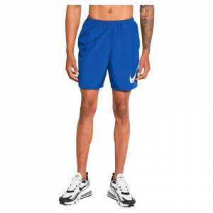 Nike Run Wild Run Short Pants L Game Royal / White; male,