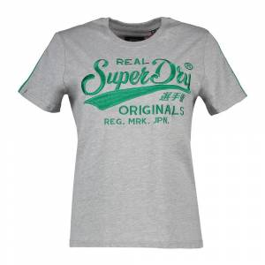 Superdry Ro Piping; female,  size: XS, Grey
