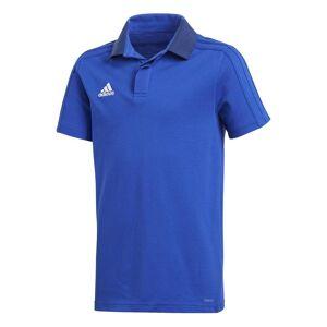 Adidas Condivo 18 Cotton S/s; male,  size: 140 cm, Blue