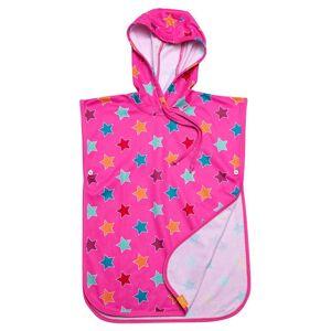 Iq-company Uv 50+ Kinder Poncho Stripes; unisex,  size: 128-146, Pink