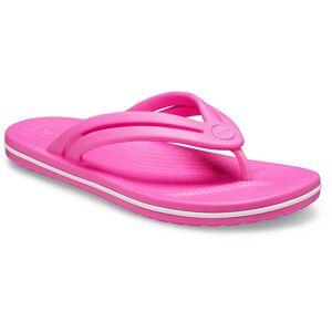 Crocs Crocband Flip Flops EU 41-42 Electric Pink; female,