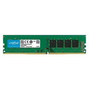 Micron Ct4g4dfs824a 4gb Ddr4 2400mhz Ram Memory One Size Black; unisex,