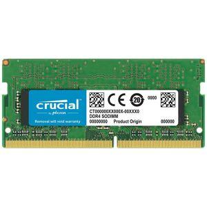 Micron Ct4g4sfs824a 4gb Ddr4 2400mhz Ram Memory One Size Black; unisex,