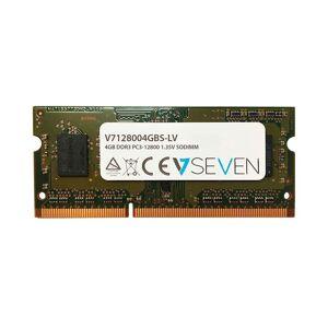 V7 V7128004gbs Dr Lv 4gb Ddr3 1600mhz Ram Memory One Size Black; unisex,