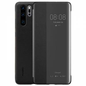 Huawei P30 Pro Flip Waller Case One Size Black; unisex,