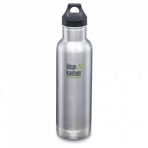 Klean Kanteen Insulated Classic 590ml; unisex,  size: One Size, Silver