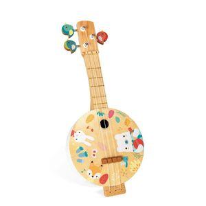 Janod Pure Banjo; unisex,  size: 3-8 Years, Multicoloured
