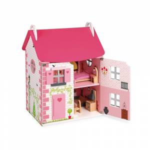 Janod Mademoiselle Doll´s House; unisex,  size: 3-8 Years, Multicoloured