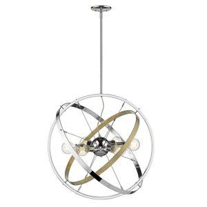 Golden Lighting Atom 6 Light Chandelier