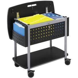 Scranton & Co Mobile File with Worksurface