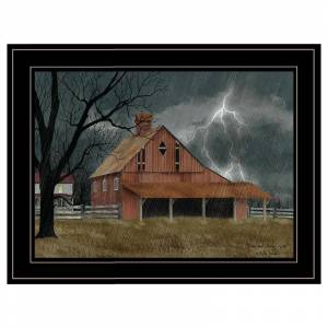 Trendy Decor4U Dark and Stormy Night By Billy Jacobs Printed Wall Art Wood Multi-Color
