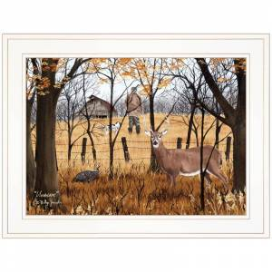 Trendy Decor4U Unaware By Billy Jacobs Printed Framed Wall Art Wood Multi-Color
