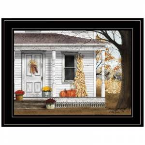 Trendy Decor4U Autumn Greetings By Billy Jacobs Printed Wall Art Wood Multi-Color