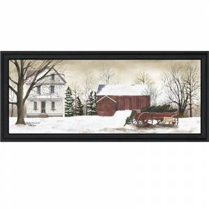 Trendy Decor4U Christmas Trees for Sale By Billy Jacobs Printed Wall Art Wood Multi-Color